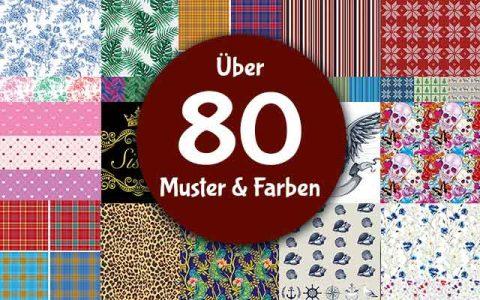 Eigenes Hundebett gestalten aus über 80 Farben, Designs und Mustern